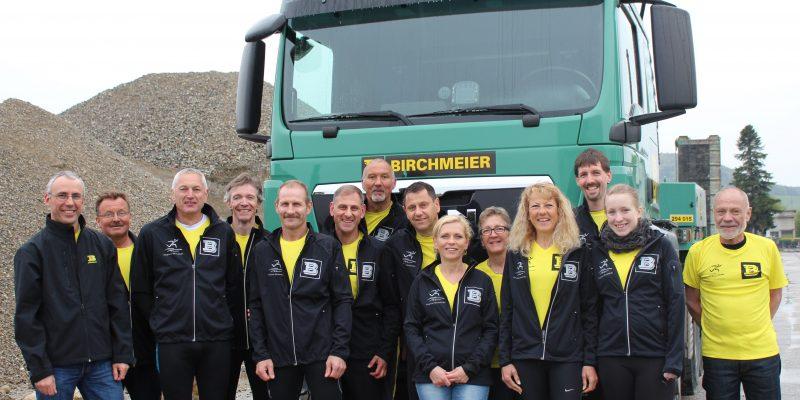Gruppenfoto Klingnauer Stauseeläufer